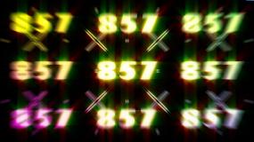 857百大炫酷节奏开场视频素材