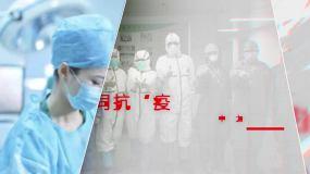 抗疫力量视频素材