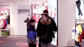 高档商场城市商圈商场超市人流城市中心视频素材