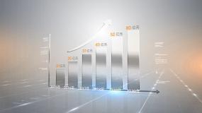科技文字图表数据展示AE模板