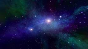 4K粒子宇宙星云星空穿梭视频背景视频素材