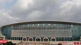 上饶市体育中心视频素材