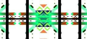 宽屏-质感-酷炫-彩色-几何方块-走秀背视频素材