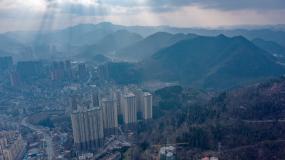 城市4k高清航拍视频素材