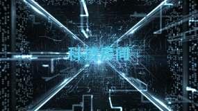 科技未来空间感特效AE模板