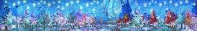 原创8K梵高星空水彩森林油画视频素材