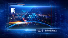 【原创作品】科技企业图文展示AE模板