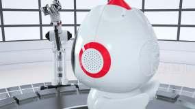 C4D機器人產品三維動畫C4D工程