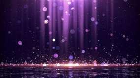 4K夢幻浪漫粒子流光視頻視頻素材
