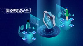 科技互联网5g技术宣传片片头模板AE模板
