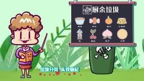 北京垃圾分类宣传AE模板