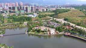 璧山枫香湖儿童公园视频素材