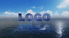 出水logo__AE模板AE模板