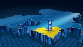 青岛E3D版本地图AE模板