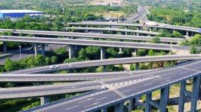 高速公路立交桥资料视频素材