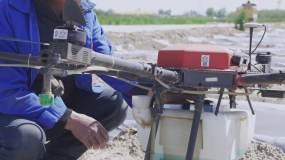 农业飞防队打药视频素材