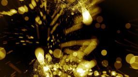 光线粒子大气logo标题片头模板AE模板