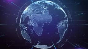 【原创】科技地球全球化AE模板AE模板