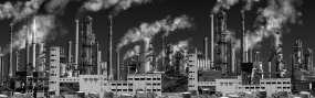 原創4K工業污染世界末日視頻素材