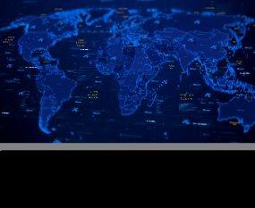 军事科技地图AE模板