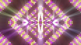 4K霓虹闪烁灯光背景循环视频素材