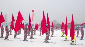 2020年临沂冬季运动会开幕仪式视频素材