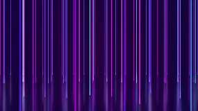 4K霓虹線條舞臺背景循環視頻素材