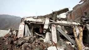 512汶川地震北川地震废墟视频素材