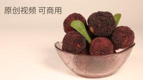 水果杨梅草莓荔枝杏桔子芒果樱桃视频素材