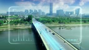 车辆信息通讯科技感素材(新)视频素材