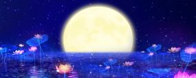 中秋月圆视频素材