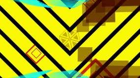李孝利百大dj几何变换阵列变换视频素材