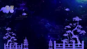 中国风古典曲艺LED背景视频素材视频素材包