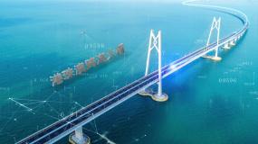 智慧城市智慧大桥AE模板