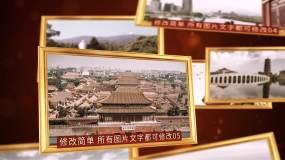 怀旧历史图文多照片展示AE模板