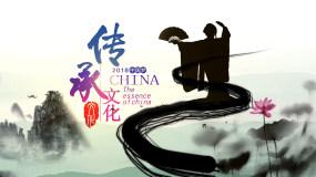 大气中国风水墨传承文化ae模板AE模板
