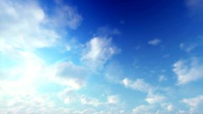 飘动的云4K视频素材