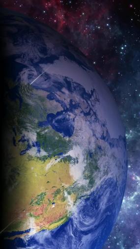 旋转地球视频素材