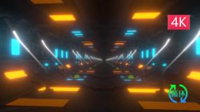 迷幻科技隧道视频素材包