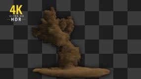 爆炸特效-带通道视频素材包
