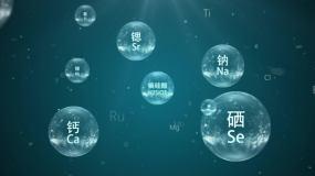 水中水晶球化学能量营养元素AE模板