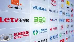【無需插件】企業LOGO照片墻AE模板AE模板