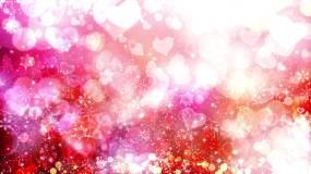 4K抒情愛情舞臺背景循環視頻素材