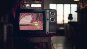 【原创】打开老电视机播放节目模板AE模板