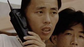 固话-BP机-大哥大-改革开放初通信视频素材
