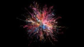 爆炸粒子(alpha)视频素材