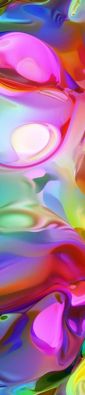 5k-竖屏-抽象唯美梦幻霓虹流动色彩彩色视频素材