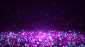 唯美粒子背景视频素材