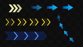 10款常用箭头带通道视频素材包