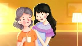 感恩母亲节背景视频素材